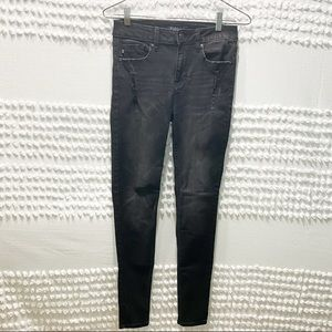 Vigoss Ace black super skinny high rise jeans 26